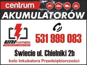 Dystrybutor akumulatorów Drzycim UNI PARTNERS