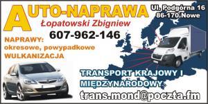 Lakiernictwo samochodowe Nowe nad Wisłą TRANS-MOND