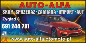 Sprzedaż aut powiat chełmiński AUTO-ALFA