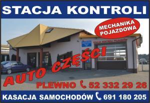 Kasacja pojazdów Kotomierz AUTO CZĘŚCI CHMURZYŃSKI