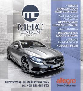 Części Mercedes nowe Kostrzyn nad Odrą MERC CENTRUM