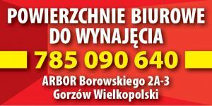 Wynajem powierzchni biurowych Gorzów Wielkopolski ARBOR