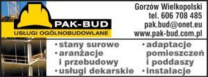 Przebudowa obiektów Gorzów Wielkopolski PAK-BUD