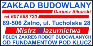 Roboty budowlane w pełnym zakresie powiat tucholski DARIUSZ SIKORSKI