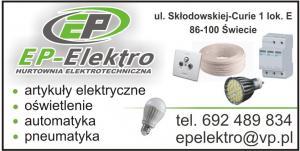Automatyka elektrotechniczna Świecie nad Wisłą EP-ELEKTRO