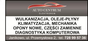 Oleje płyny  samochodowe Janikowo AUTO CEMTRUM ELEKTROREM