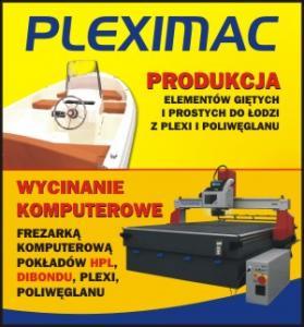 Produkcja elementów gietych do łodzi - Pleximac